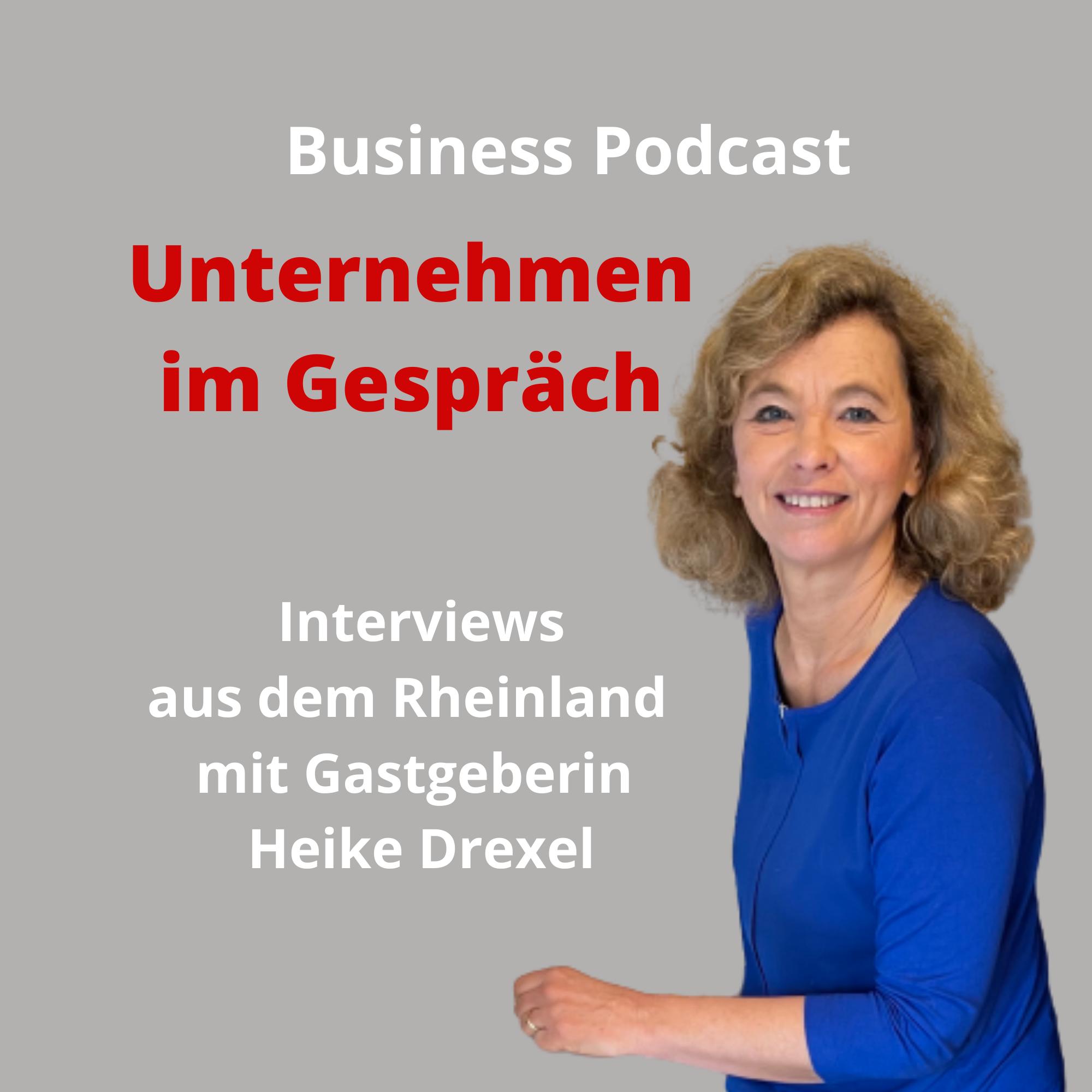 Business Podcast 'Unternehmen im Gespräch' Logo